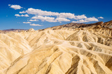 The View from Zabriskie Point in Death Valley National Park  California