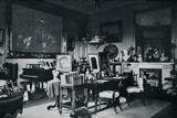 The Queens Private Sitting Room at Osborne  c1899  (1901)