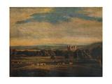 Naworth Castle  c1826