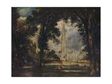Salisbury Cathedral  c1823