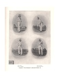 Early Victorian cricketers  19th century (1912)