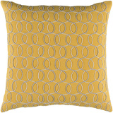 Solid Bold II Pillow Cover by Bobby Berk - Saffron