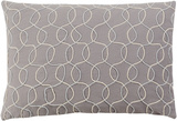 Solid Bold II Poly Fill Pillow by Bobby Berk - Dove Grey