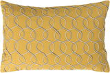 Solid Bold II Poly Fill Pillow by Bobby Berk - Saffron