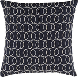 Solid Bold II Pillow Cover by Bobby Berk - Black