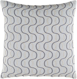 Solid Bold II Poly Fill Pillow by Bobby Berk - Slate Grey