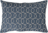 Solid Bold II Pillow Cover by Bobby Berk - Navy