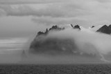 Clouds over Greenwich Island  English Strait  Antarctica