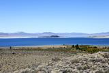 Scenic View of Mono Lake in California  USA