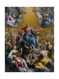 The Assumption of the Virgin Ca 1596 - 97
