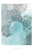 Ink Blot Mandala I Reproduction d'art par Grace Popp