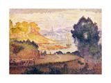 Aussicht auf Menton Vue de Menton 1899-1900