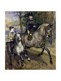 Horsewoman in the Bois de Boulogne 1873