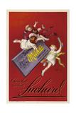 Werbung für die Schokolade 'Milka' der Firma Suchard 1925