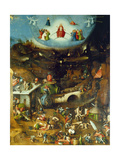 Last Judgement -Triptych Centre panel