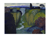 Landscape with Waterfall 1896