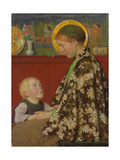 Junge Mutter Um 1892-95