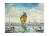 Segelboote auf dem Giudecca oder Venedig  Marine 1903-1905