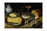 Still life with half herring Around 1620