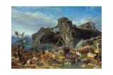 Nach der Sintflut: die Tiere verlassen die Arche 1867