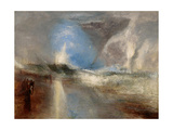 Rockets and Blue Lights (Close at Hand) to Warn Steamboats of Shoal Water 1840