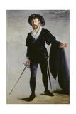 Portrait de Faure dans le rôle d'Hamlet (Der Sänger Jean-Baptiste Faure als Hamlet ) 1877