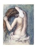 Woman Drying Herself (Femme s'essuyant) Ca 1906