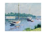 Le bassin d'Argenteuil 1882