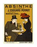 Absinthe. Liqueur Mont-Christ Reproduction d'art par Leonetto Cappiello