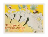 La Troupe de Mademoiselle Églantine  1896