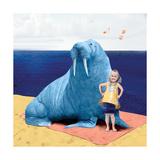 My Walrus Friend Papier Photo par Nancy Tillman