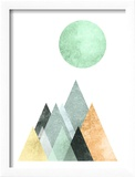 Geometric Art 41 Reproduction encadrée par Pop Monica