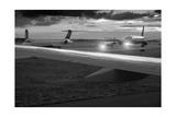 Airport Tarmac B W