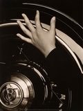 Georgia O'Keeffe  Hand on Back Tire of Ford V8  1933