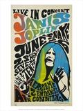 Janis Joplin concert poster  1970