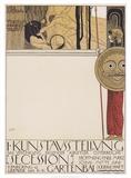 Secession I, 1868 Reproduction d'art par Gustav Klimt