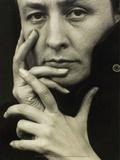 Portrait of Georgia O'Keeffe  1918