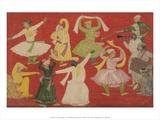 Dancing Villagers  1730
