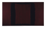 Mural  Section 3 {Black on Maroon} [Seagram Mural]