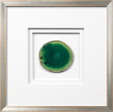 *Exclusive* Siena Framed Agate - Green