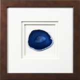 *Exclusive* York Framed Agate - Blue *