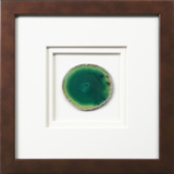 *Exclusive* York Framed Agate - Green *