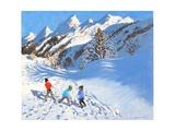 Snowballing  La Clusaz  France