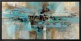 Un fjord le matin Tableau sur toile encadré par Silvia Vassileva