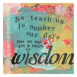 So Teach Us