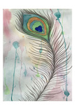 Feather 555 Reproduction d'art par Debbie Pearson