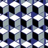 Tumbling Blocks I Reproduction d'art par Myriam Tebbakha