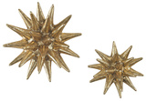 Cosmic Burst Wall Decor Pair - Gold *