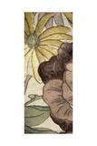 Earthtone Floral Panel IV