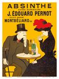 Absinthe Extra-Superior (Absinthe Extra-Supérieure) - J. Édouard Pernot Brand Reproduction d'art par Leonetto Cappiello
